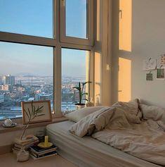 Ideas Bedroom Inspo Dream Rooms Window For 2019 Dream Rooms, Dream Bedroom, Bed Aesthetic, Bedroom Inspo, Bedroom Decor, Bedroom Bed, City Bedroom, Bedroom Corner, Girls Bedroom