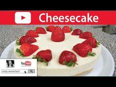 CHEESECAKE FRIO SIN HORNO | Vicky Receta Facil - YouTube