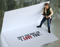 Star Wars Valentine I Know is Star Wars for I Love by SARNSTIE