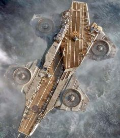 Helicarrier in the hot Marvel movie The Avengers Marvel Films, Marvel Cinematic, Marvel Comics, Navy Aircraft, Military Aircraft, Shield Helicarrier, Starship Concept, Spaceship Art, Sci Fi Ships