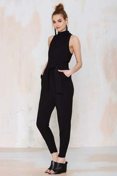 Cameo Collective Chicago Pleated Jumpsuit - Rompers + Jumpsuits