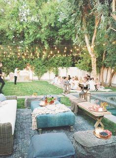 Ashley Tisdale's Boho Dinner | Found Vintage Rentals #dinner #boho #bohemian…