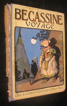 Becassine Voyage 1923 Caumery Pinchon French Color Illustrated Juvenile Book | eBay