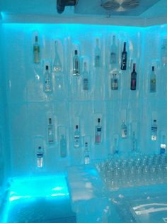 Belvedere Ice Room @ Bearfoot Bistro, Whistler, BC #PBperfectsaturday with @CaitlinFlemming and @PoppyBarley.