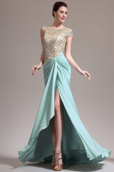 I like ittttttttttttttttttttttttt !!! eDressit 2013 New Gorgeous Asymmetric sleeves Sequins Evening Dress (00137804)