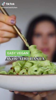 Tasty Vegetarian Recipes, Vegan Dinner Recipes, Whole Food Recipes, Cooking Recipes, Healthy Recipes, Vegan Avocado Recipes, Vegan Foods, Vegan Dishes, Healthy Snacks