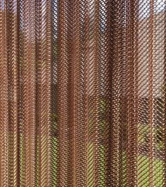 New Expanded Metal Mesh and Perforated Metal Mesh in Decorative Wire Mesh Supplier Spa Design, Retro Design, Wall Design, Window Screens, Window Coverings, Luxury Shower Curtain, Pavillion, Industrial Office Design, Space Frame