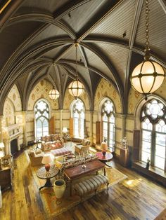 Stunning French Chateau on Central Park