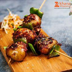 Schezwan Potatoes! #LoveToEat #LoveForFood #GoodFood #GoodLife #snackattack #zeekhanakhazana #foodie #foodlovers