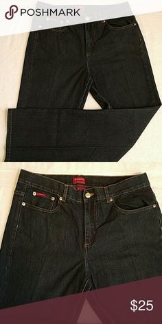 Chaps Jeans Chaps jeans only worn once -size 10 inseam 30 1/2 inches chaps Jeans Boot Cut