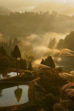 pictures of countryside in japan | ... splendor of Japanese countryside! Yamakoshi village, Niigata, Japan
