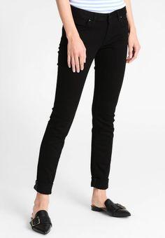 edc by Esprit. Jeans slim fit - black rinse. Lunghezza interna della gamba:84 cm nella taglia 28x34. Composizione:98% cotone, 2% elastan. Dettagli:Tasche anteriori. Lunghezza della gamba esterna:104 cm nella taglia 28x34. Vita:normale. Chiusu...