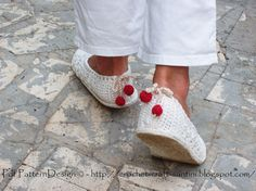 2in1-Pattern-Pack for White Lace Basic-Slippers