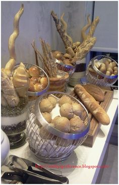 Kind of beautiful bread like a room decoration, only at www.pullmanjakartacentralpark.com