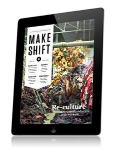 Makeshift is an awesome digital app made using the Mag+ platform. It has a stunning interface filled with grassroots creativity around the world.