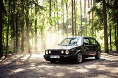 #VW #Golf mk2 awesome looking little car!!