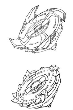 25 Coloring Pages Beyblade