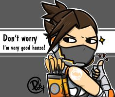 No, you are not #complacent #hanzo #overwatch #fanartwatch #goodhanzo