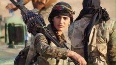 Muere el símbolo de la lucha de las mujeres contra el ISIS