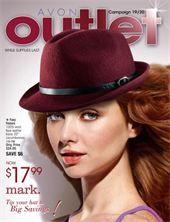 Avon Outlet Campaign 19 - view the online brochure at http://eseagren.avonrepresentative.com/blog/index.html?blog_postid=1302443