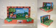 Just when we said we probably wouldn't do daily updates for a while, the new crafts are raining from the sky :p Here's a diorama; an official Nintendo craft! The Paper Mario diorama! It's an easy c...