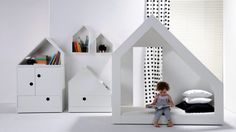 Hook Pook is a young Polish children's furniture brand. Design furniture and accessories for children stimulating creativity and developing motor skills. Cama Junior, Bedroom For Girls Kids, Bedroom Decor, Bedroom Ideas, Toddler Bed, Furniture Design, Baby, Kids Rugs, Interior Design