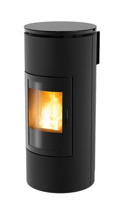 Good Images Pellet Stove mcz Concepts Pellet stove tops are an effortless way to save money and make cozy for the duration of those people very lazy. Pellet Fireplace, Portable Fireplace, Modern Fireplace, Fireplace Design, Fireplaces, Pellet Burner, Wood Pellet Stoves, Small Space Living, Living Spaces