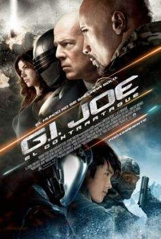 """GI Joe: Retaliation Directed by John M. Chu Starring Dwayne """"The Rock"""" Johnson and Channing Tatum 3 out of 5 Arnolds. See Movie, Movie Tv, Movies Showing, Movies And Tv Shows, Gi Joe Movie, Adventure Movies, Bruce Willis, Book Tv, Dwayne Johnson"""