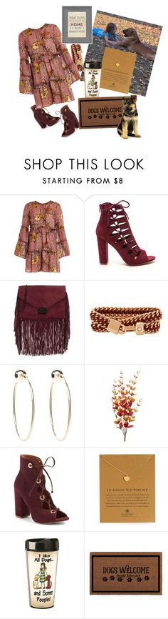 """Found My New Best Friend......."" by ahapplet ❤ liked on Polyvore featuring For Love & Lemons, Loeffler Randall, Henri Bendel, Bebe, Steve Madden, Dogeared and Belle Maison"