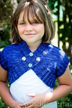 Ravelry: Shrugs and Kisses pattern by Elena Nodel  #knitting #cardigan