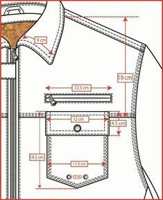 Pant pocket - Best Sewing Tips Tailoring Techniques, Techniques Couture, Sewing Techniques, Mens Sewing Patterns, Sewing Tutorials, Clothing Patterns, Pattern Draping, Jackett, Pattern Cutting