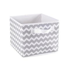 "Koala Baby Storage Bin - Grey Chevron | Toys""R""Us Australia, Official Site - Toys, Games, Outdoor Fun, Baby Products & More"