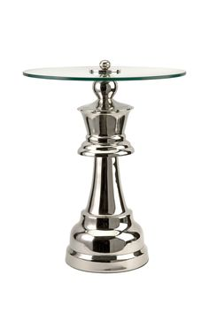 Queen Chess Piece Table