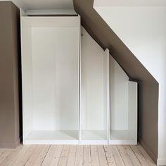 Ikea Pax Hack, Ikea Hacks, Garage Doors, Bedroom, Interior, Outdoor Decor, Closets, Inspiration, Furniture