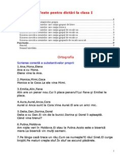 Texte Pentru Dictare Oreo, Chemistry