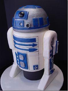 R2-D2 cake. 'Nuff said.