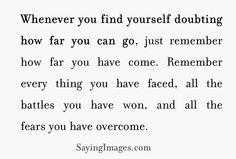 ♥ Never give up, Have Faith in God and yourself! ♥