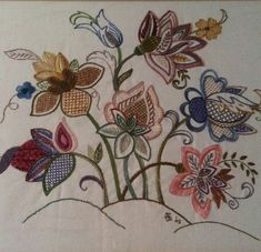My very own Jacobian Embroidery