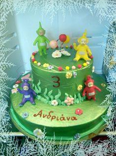 Birthday cake teletubies