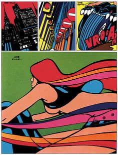 GROOVY ANT '70s, resinism:   This sequence (from Pravda byGuy...
