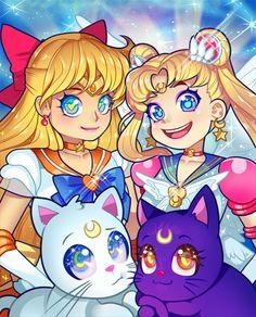 linzb0t:  raspbeary:  girls and their kitties  Those EYES