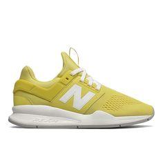 New Balance WS247UG Sneakers Gul. Super cool sporty sneakers fra New Balance. Den populære 247 model er nu lavet i en super sej gul farve til sommeren
