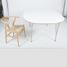 Super Elliptical Table|Super Elliptical Extension Table|Replica|Fritz Hansen Fritz Hansen, Arne Jacobsen, Table Seating, Square Tables, Rocking Chair, Eames, Furniture, Design, Home Decor