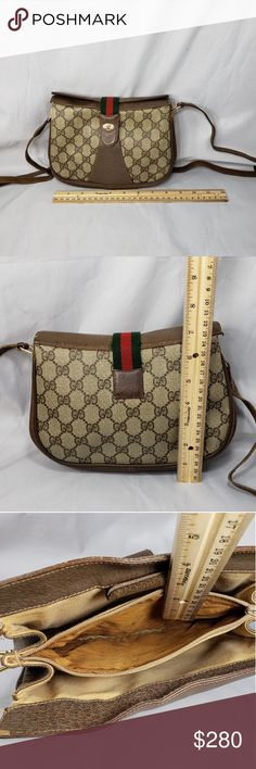 a388bc060911 Authentic Vintage Gucci bag Plenty life left, signs if wear and tear as  shown in