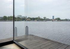 Berlin Modern Houseboat Windows | Remodelista