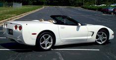 Speedway White  2003 Corvette Convertible