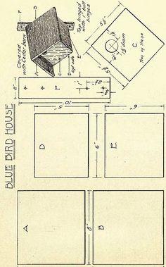 Antique Birdhouse Plans   Ruby Canoe