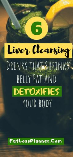 6 Best Liver cleansing drinks that detoxifies your body - Detox Drink Ideas Liver Detox Juice, Detox Your Liver, Liver Detox Cleanse, Liver Diet, Detoxify Your Body, Healthy Liver, Healthy Detox, Body Cleanse, Health Cleanse