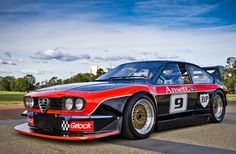 Alfa Romeo Alfetta racing car.