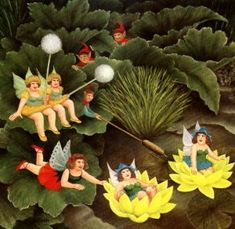 Fairies & Pixies - Beryl Cook - Prints - Original Prints